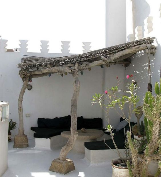 decorar la terraza - sombra