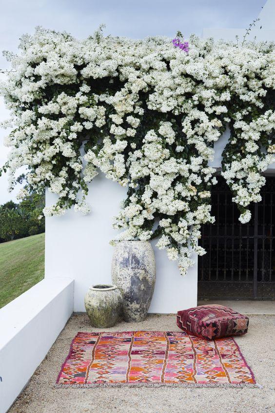 decorar la terraza - zona verde