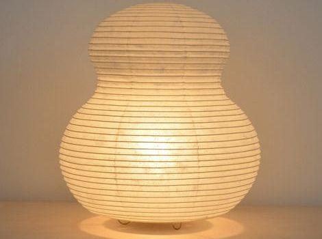 lámparas de papel