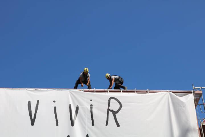 Trabajos verticales en A Coruña para fachadas y rehabilitaciones