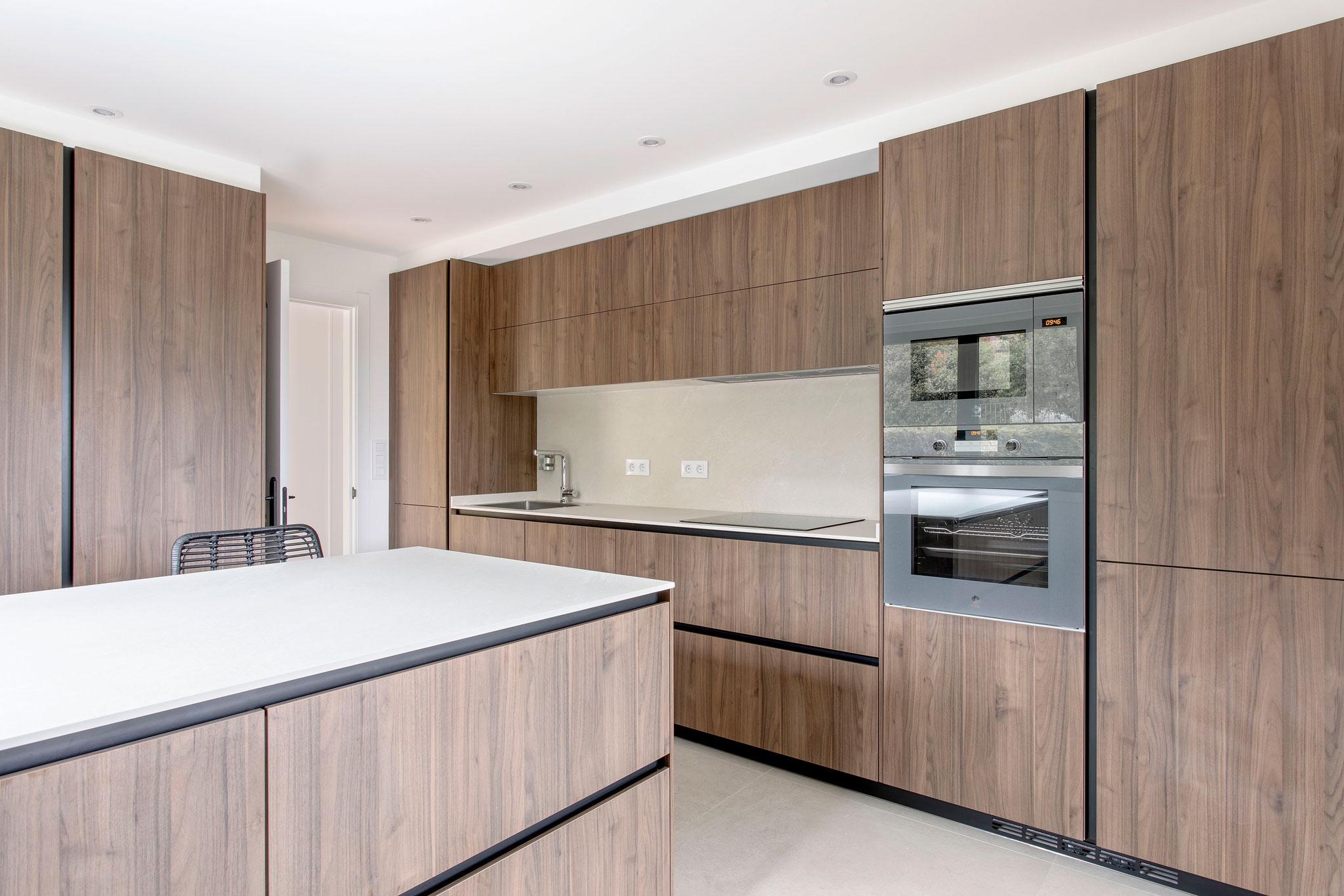 cocina de madera en vigo